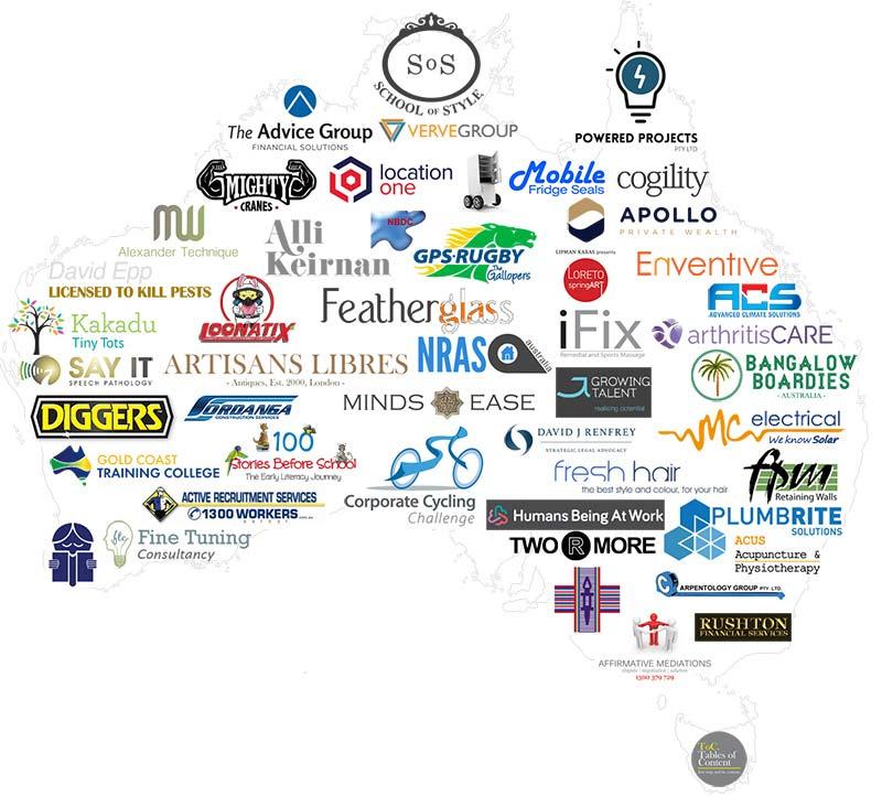web hosting & website design client map