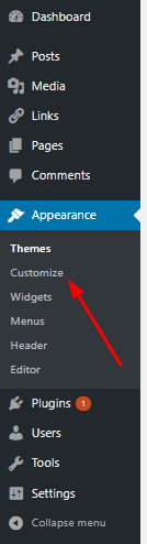 Customize Menus in WordPress