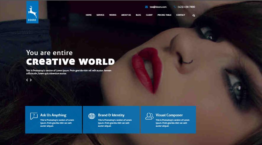 Doors WordPress Theme